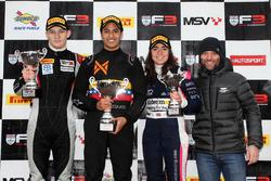 Podium: 1. Manuel Maldonado, Fortec Motorsports; 2. Tristan Charpentier, Fortec Motorsports; 3. Jami