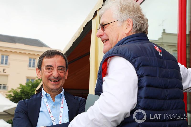 Президент ACO Пьер Фийон и Жак Николе