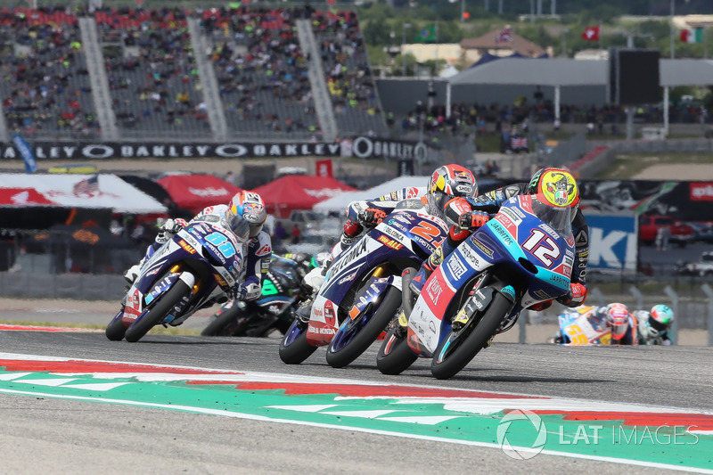 Marco Bezzecchi, Prüstel GP, Fabio Di Giannantonio, Del Conca Gresini Racing Moto3
