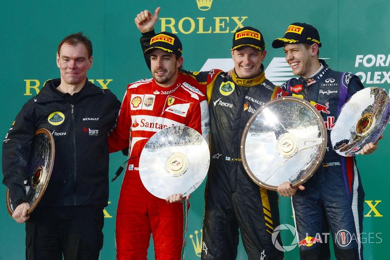 Для Райкконена победа стала второй в составе Lotus после успеха в Абу-Даби в сезоне-2012, а также 20-й в Формуле 1