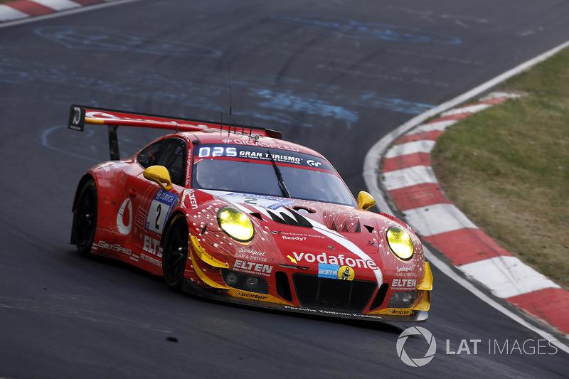 16. #2 Gigaspeed Team GetSpeed Performance Porsche 911 GT3 R: Steve Jans, Marek Böckmann, Lucas Luhr, Jan-Erik Slooten