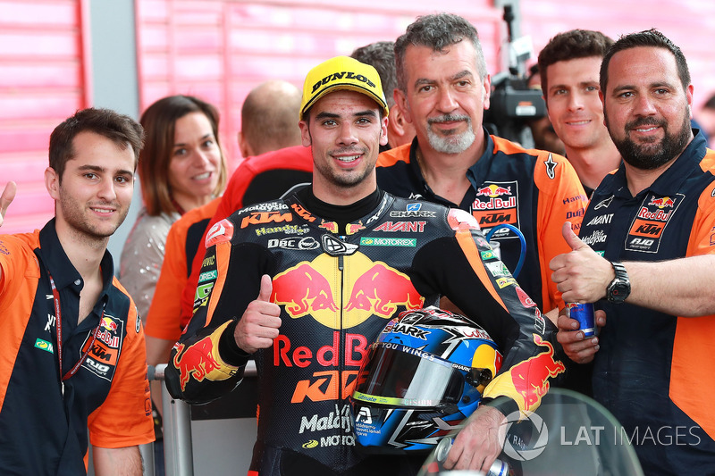 Third place Miguel Oliveira, Red Bull KTM Ajo