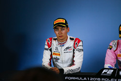 Press conference: second place George Russell, ART Grand Prix