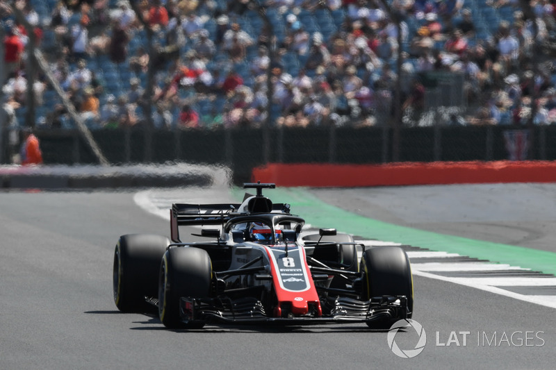 Ausfall: Romain Grosjean, Haas F1 Team VF-18