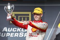 Podium: second place Scott McLaughlin, Team Penske Ford