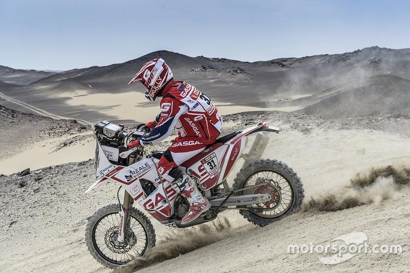 #31 GasGas Rally Team: Cristian España