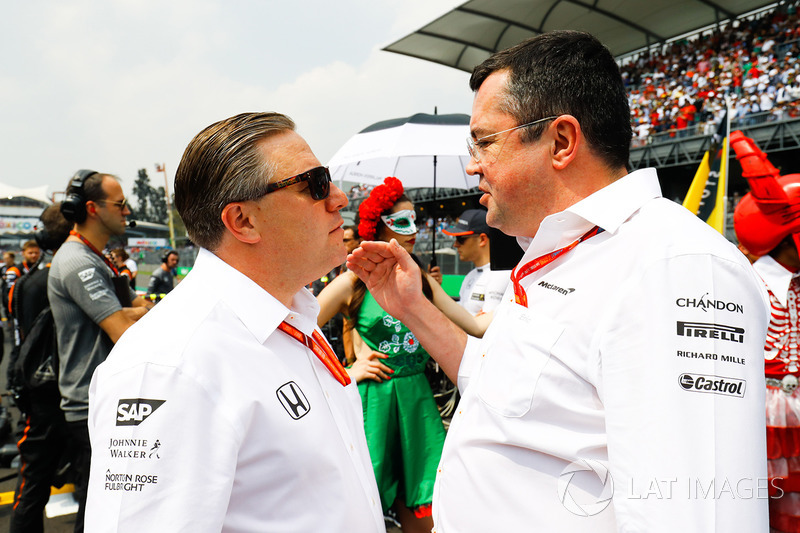 Zak Brown, McLaren, Eric Boullier McLaren