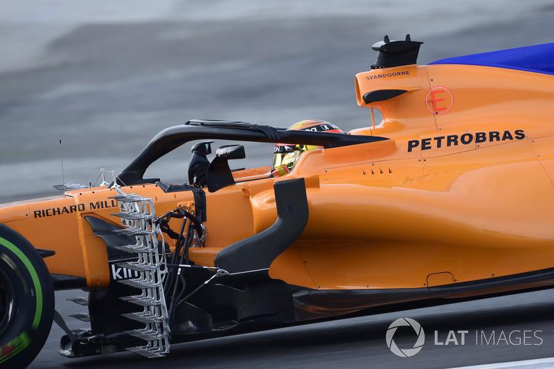 Stoffel Vandoorne, McLaren MCL33, aero sensor