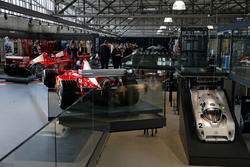 Formula 1 car display of Michael Schumacher