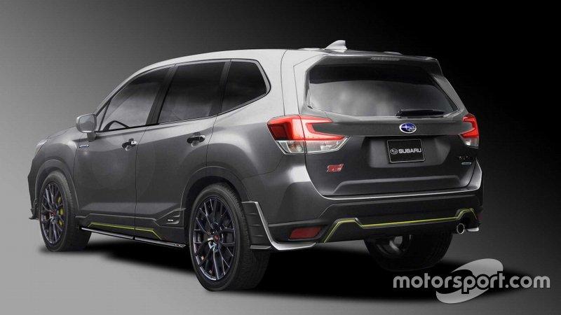 Концепт Subaru Forester STI 2019 року