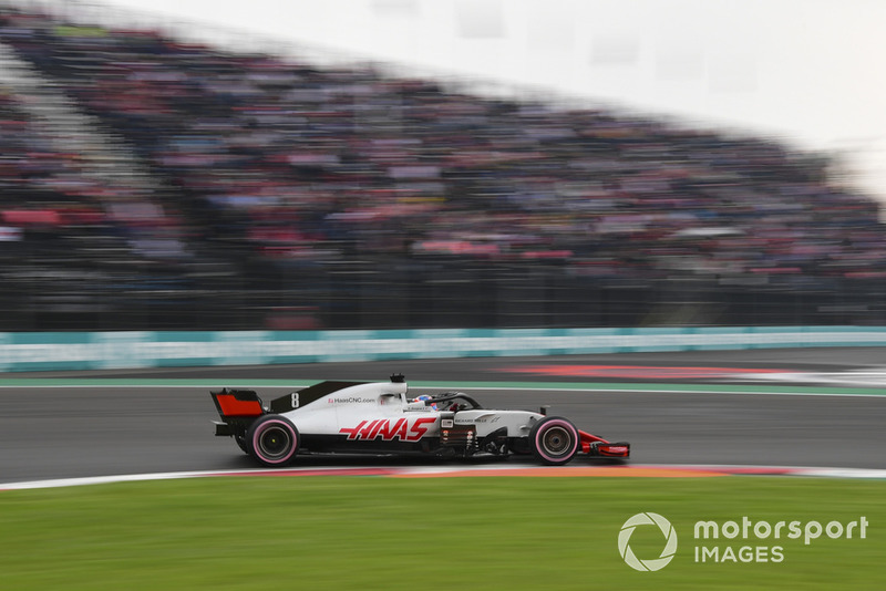16. Romain Grosjean, Haas F1 Team VF-18