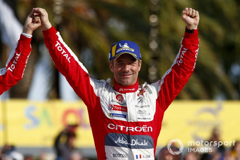 Ganador Sébastien Loeb, Citroën World Rally Team Citroën C3 WRC