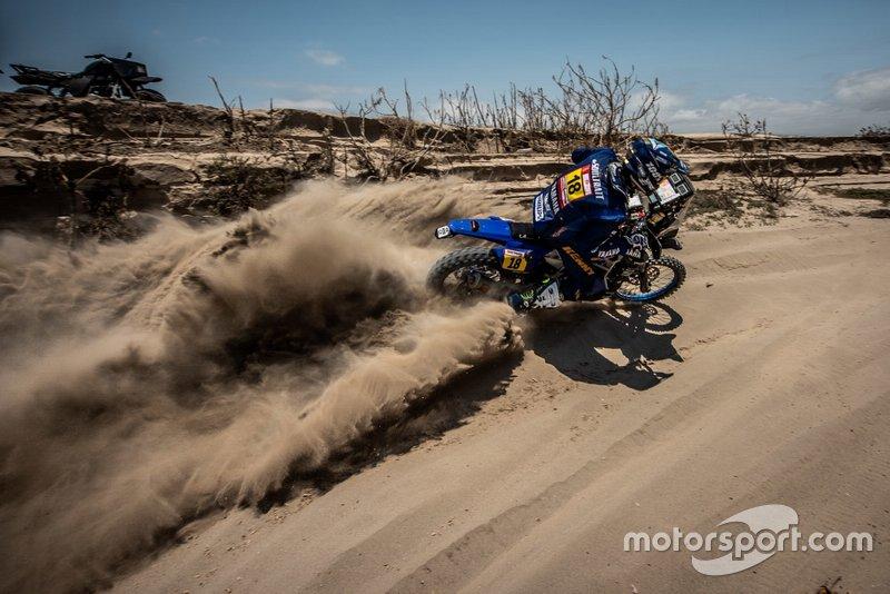 6. #18 Yamaha Official Rally Team: Ксав'є де Сультре