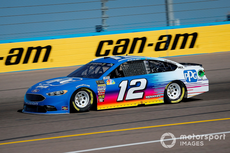 4. Ryan Blaney, Team Penske, Ford Fusion PPG