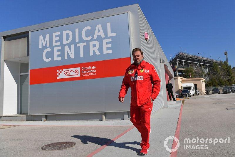 Gino Rosato, Ferrari di Medical Centre