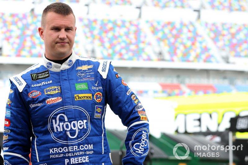 Ryan Preece, JTG Daugherty Racing, Chevrolet Camaro Kroger.com