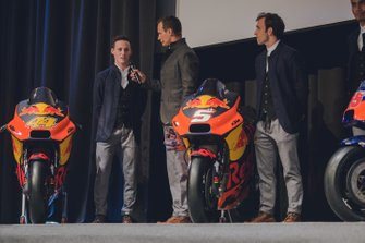 Pol Espargaro e Johann Zarco, KTM Team alla presentazione