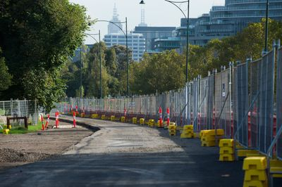 Albert Park track modifications