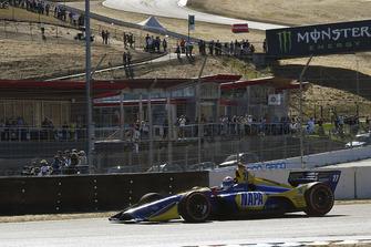 Reifenschaden: Alexander Rossi, Andretti Autosport Honda
