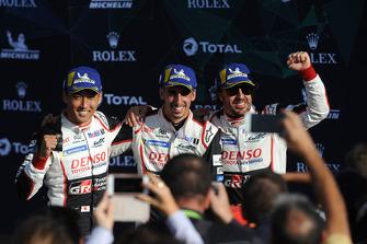 Vainqueur : #8 Toyota Gazoo Racing Toyota TS050: Sebastien Buemi, Kazuki Nakajima, Fernando Alonso