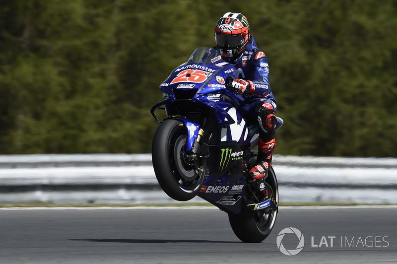 MotoGP Ceko: Maverick Viñales, Yamaha Factory Racing