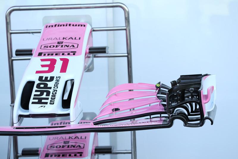 Ala delantera de Racing Point Force India VJM11