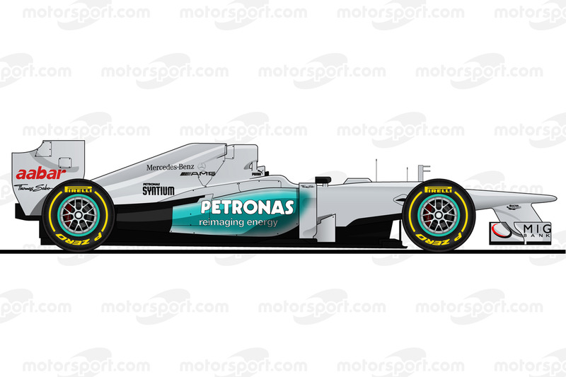 Michael Schumacher, Mercedes W03, 2012