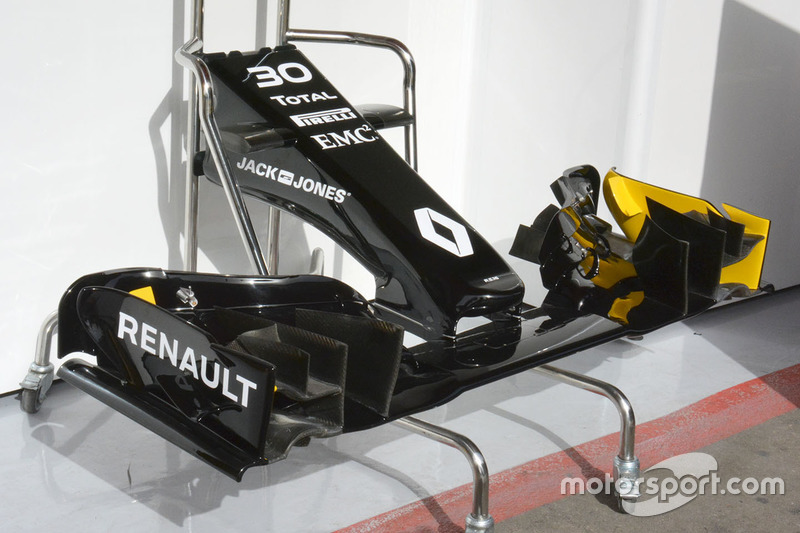 Renault Sport F1 Team RS16, Frontflügel
