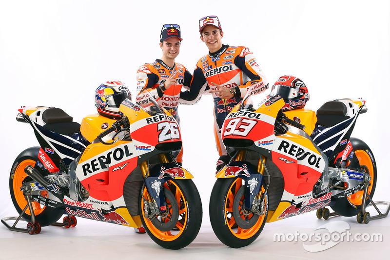 Marc Marquez, Repsol Honda Team e Dani Pedrosa, Repsol Honda Team