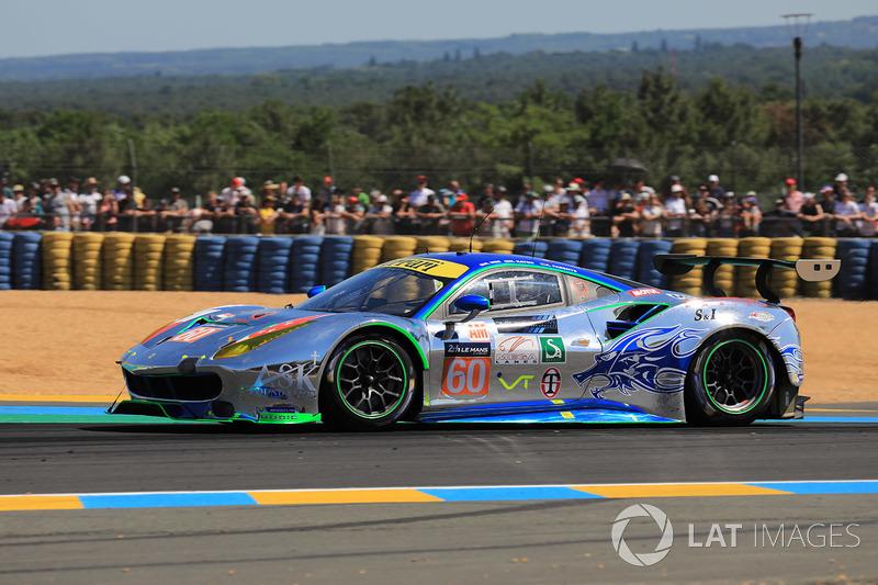 11. LMGTE-Am: #60 Clearwater Racing, Ferrari 488 GTE