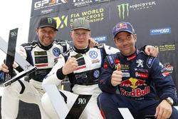 Podium: 1. Johan Kristoffersson, PSRX Volkswagen Sweden; 2. Petter Solberg, PSRX Volkswagen Sweden; 3. Sébastien Loeb, Team Peugeot Hansen