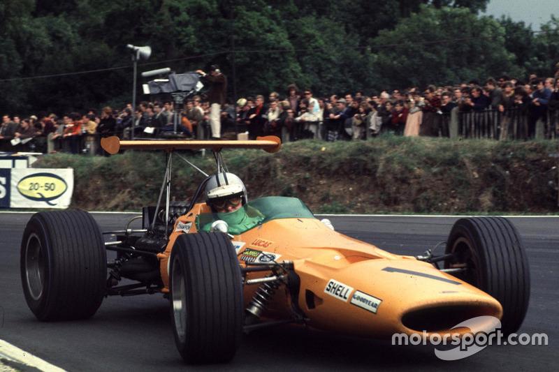1968-1970 : McLaren M7A, à moteur Ford Cosworth