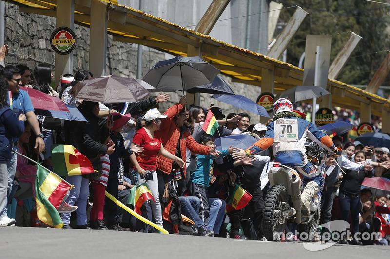 #70 KTM: Alessandro Ruoso