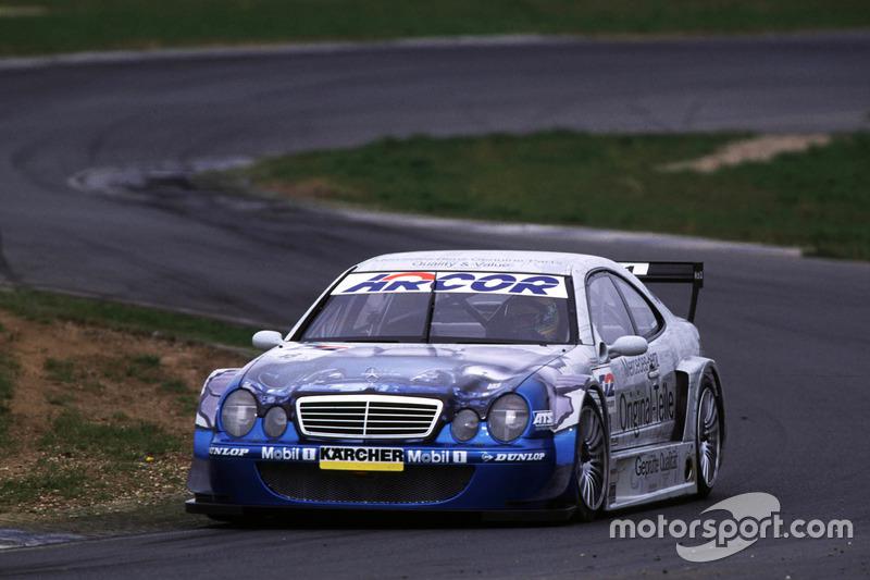 Marcel Tiemann, Mercedes CLK DTM