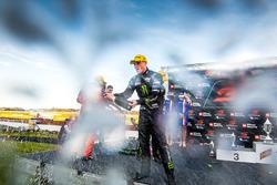 Podium: race winner Richie Stanaway, Prodrive Racing Australia Ford