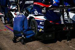 United Autosports team members at work