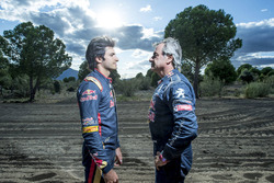 Carlos Sainz und Carlos Sainz Jr.
