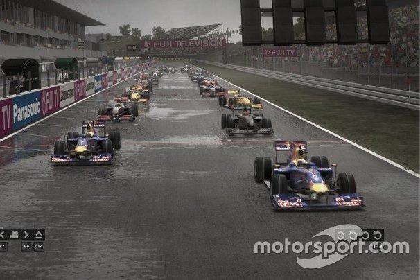 Starting grid, F1 2010