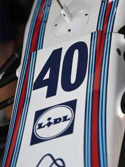 Startnummer 40 für Paul di Resta, Williams FW40