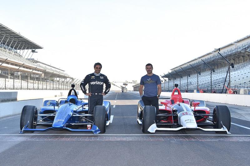 Los Chevrolet y Honda IndyCar 2018 con Juan Pablo Montoyay Oriol Servia