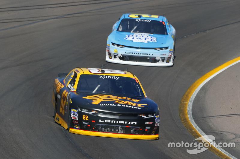 Brendan Gaughan, Richard Childress Racing, Chevrolet; Daniel Hemric, Richard Childress Racing, Chevrolet