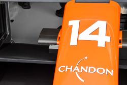 McLaren MCL32, nosecone detail