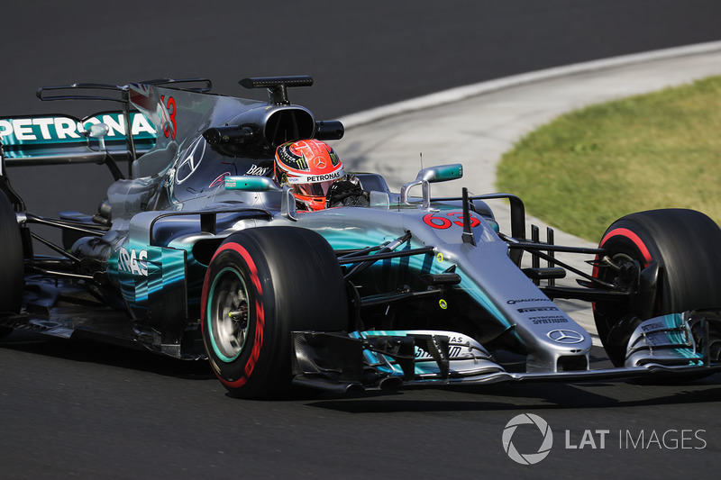 Джордж Рассел, Mercedes AMG F1 W08