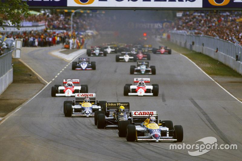 1986-й стал в Формуле 1 годом противостояния Williams, McLaren и Lotus. Лучшие гонщики своего поколения получили примерно равную по силам технику, потому каждая гонка могла закончиться в пользу любого из них