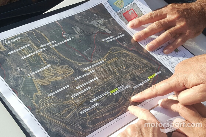 Circuito de Tenerife: Lageplan