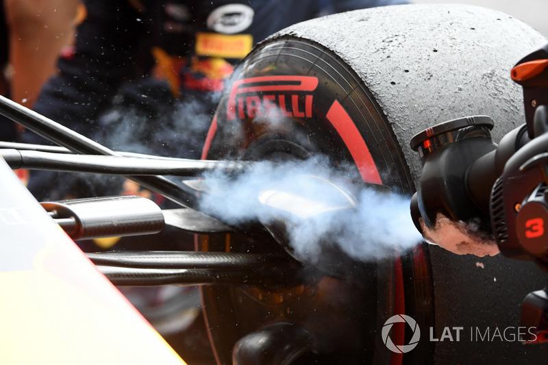 Red Bull Racing RB13 fren soğutucusu