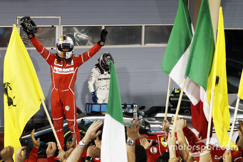 3º GP de Bahrein 2017 - Victoria para Sebastian Vettel, Ferrari