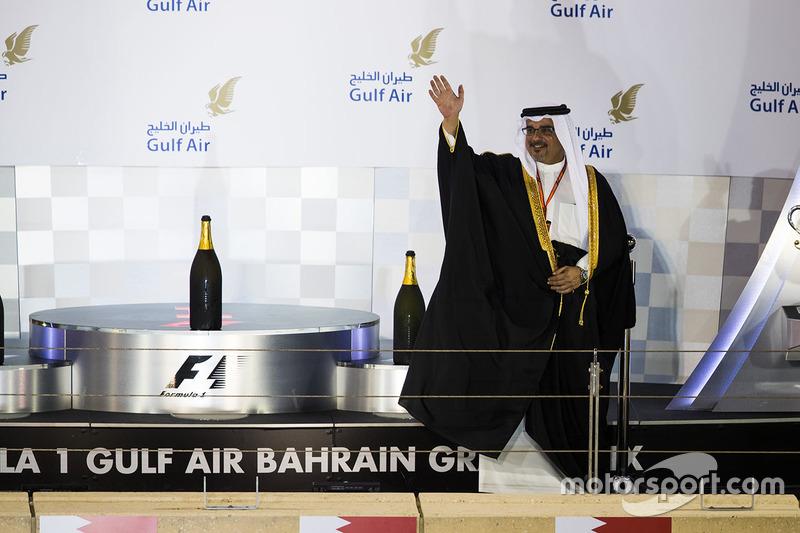 الشيخ سلمان بن حمد بن عيسى آل خليفة، ولي عهد البحرين
