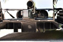 Rear aero and diffuser detail of Felipe Massa, Williams FW40