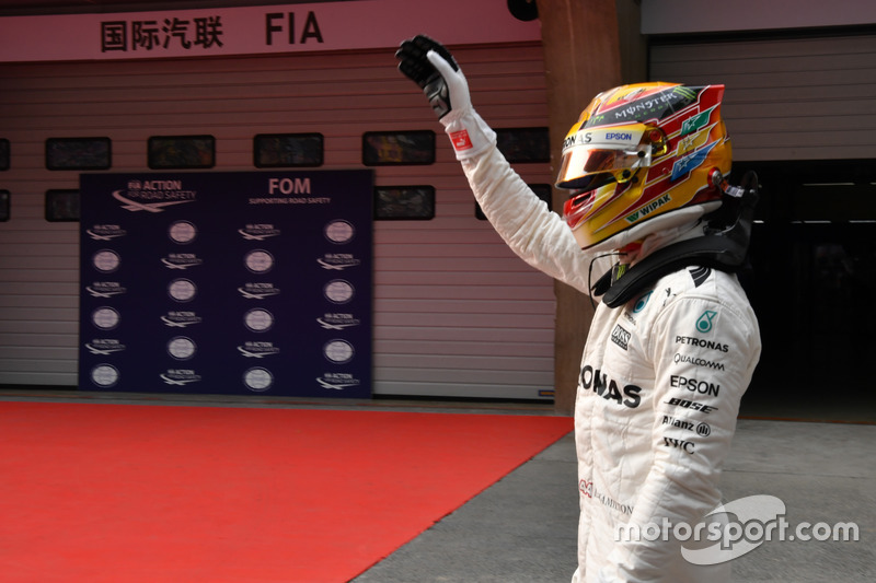Поул-сіттер Льюіс Хемілтон, Mercedes AMG F1